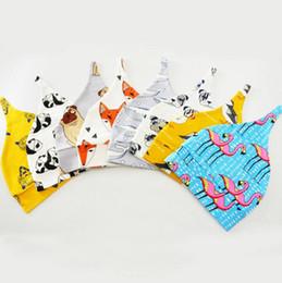 Wholesale Toddlers Animal Hats - Toddler Kids Hat Beanie Cap Baby Infant Winter Warm Dinosaur Flamingo Skull Caps Girls Animal Print Beanie Xmas Headwear cap KKA2410