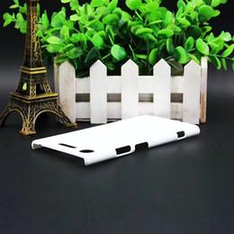 Argentina Caja en blanco de la cubierta del teléfono móvil de la sublimación 3D para Sony Xperia XZ1 20pcs / lot por HKPost que envía libremente Suministro
