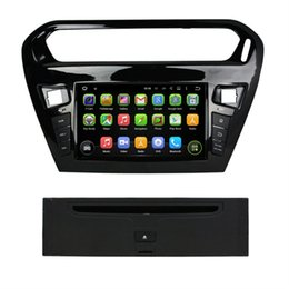 Wholesale Car Dvd Player Gps Peugeot - Rockchip 3188 Cortex A9 Quad Core Android 5.1 Car Radio DVD Player for Peugeot 301 2013 2014 With GPS 3G WIFI Bluetooth 16GB ROM Car DVD