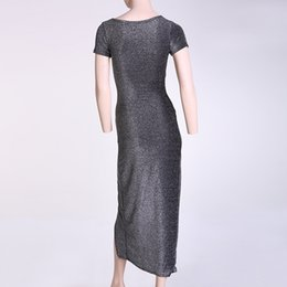 Wholesale Long Skirts Asymmetric - The Sexy Package Hip Skirt Asymmetric Open Fork Skirt One Color Backless Party Dresses Temperamental Long Skirt