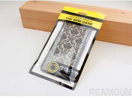 Caso del oem de encargo online-Bolso de empaquetado al por menor plástico de la cremallera que se puede volver a sellar del sello autoadhesivo de encargo del OEM para la caja del teléfono para el iPhone 8 8plus