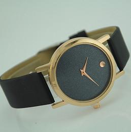 Wholesale Dot Leather Watch - Watch Women minimalism luxury Fashion Casual quartz Unique Stylish Dot watches Women Men leather sport wristwatches