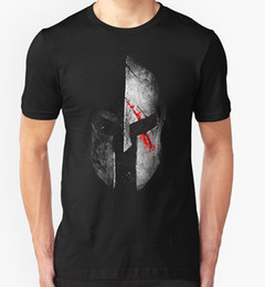 Wholesale 2017 Newest Spartan Tshirt Gladiator Warrior Film Spartacus Birthday Gift Present Design T Shirt Hipster O Neck Cool Tops