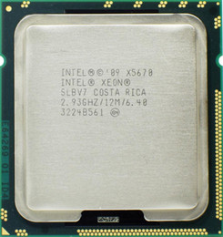 Wholesale Cpu Intel Xeon Server - Intel Xeon X5670 Processor 2.93GHz LGA1366 12MB L3 Cache Six Core server CPU Application for Desktop