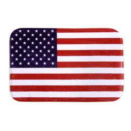 Wholesale- Super Deal Flag antiscivolo tappetino da bagno Mat Outdoor Indoor Antiscivolo Decor zerbino XT da
