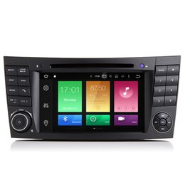 "Wholesale Stereo W211 - 7"" 2G RAM Octa-Core Android 6.0 Car DVD Player For BENZ E Class W211 W463 W209 CLS-W219 E400 E500 GPS Navi Receiver 4K Video RDS WIFI 4G OBD"