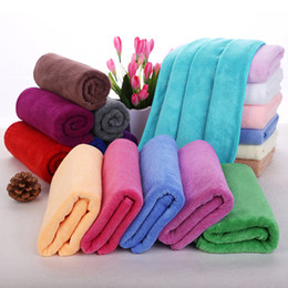 Wholesale home cleaning appliances - Newest Cleaning Cloths Fast Drying Water Uptake Auto Clean Towels Superfine Fiber Kitchen Cleanliness Beauty Salon Towels 30*70cm WX-T05