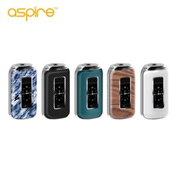 Wholesale E Cig Connectors - Authentic Aspire SkyStar 210W TC Box Mod E Cig With 1.3 Inch Touch Screen Spring Loaded 510 Connector 100% Original