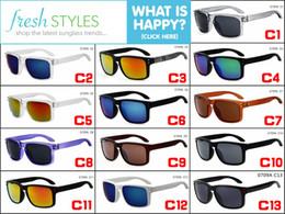 Wholesale Designer Holbrook - 100x Rivets Coating Glasses13 colors options Fashion Sunglasses Women Sports Sunglasses Holbrook men brand Designer outdoors Glasses UV400