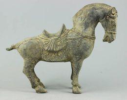 Wholesale Horse Bronze Sculpture - Collectible Decorated Old Handwork Bronze sculpture Horse statue