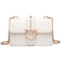 Wholesale Fiber Shops - 2017 Brand Bag Women chain crossbody bags designer bag Bird embroidery shoulder bag luxury leather handbag vintage name bags free shopping