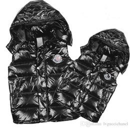 Wholesale Duck Down Jacket Womens - Wholesale Classic Men and women brand winter down vest feather weskit jackets womens casual vests coat outer wear size:S-XXXL
