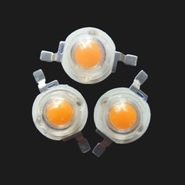 Wholesale Led Epileds Chip - Wholesale- High Power 5W Full Spectrum 400-840nm Led Diode with Epileds 45mil Chip for Led Grow Light