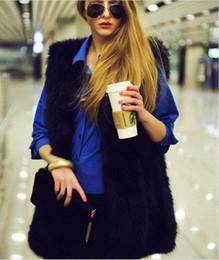 Wholesale Women S Faux Mink Coat - Luxury Women Faux Fur Hooded Coat Fashion Winter Ladies Imitation Mink Outerwear Jacket warm black Hot Fashion Long Women Fur clothing S-3XL