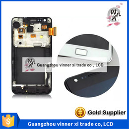 Wholesale Galaxy S2 Glass Touch Screen - 100% Working Well Replacement LCD for Samsung Galaxy S2 I9100 LCD Touch Screen Display with Digitizer Glass Assembly Replace
