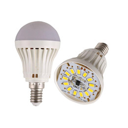 Wholesale E27 Globe Lamp - High Power E27 B22 Led Bulbs 5730SMD 3W 5W 7W 9W 12W 15w LED Lamp 110V 220V Light Bulb For Home