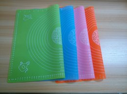 Wholesale Pastry Boards - 10 colors to choose 50*40cm Large High Temperature Resistant Silicone Pad Baking Tools Soft Chopping Board Non-Stick Pad Pastry Tools