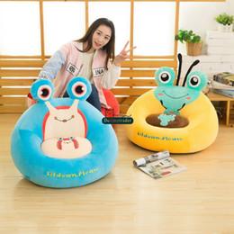 Canada Dorimytrader pop beaux animaux doux en peluche canapé jouet grosse chaise de bande dessinée en peluche anime canapé pour adultes et enfants DY60888 Offre