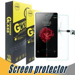 Wholesale Screen Protector For Zte Grand - For ZTE Grand X Max Tempered Glass Screen Protector Explosion Shatter 9H 2.5D For ZTE Nubia Z9 Mini Z9 Max Z5s Mini Z7 Mini Z7 Max Star1