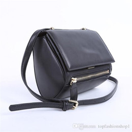 Wholesale Tote Bag Designer Celebrities - HOT FAMOURS BRAND DESIGNER CLASSIC WOMEN PANDORA BOX BAG Celebrity Motorcycle Bag Fashion Women Handbag One Shoulder Bag PU Leather Tote