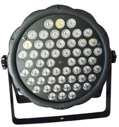 Wholesale Led Low Cost - LOW COST DJ DISCO LIGHT DMX LED PAR LIGHTS RGBW 54x 3W PARTY STAGE EFFECT COLORFUL BEAM PLASTIC CASE