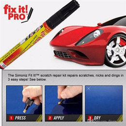 Wholesale Fix It Pro Car Coat Scratch Cover Remove Painting Pen Car Scratch Repair For Simoniz Clear Pens Packing Cars Styling Cars Care XL A60