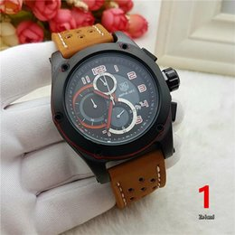 Wholesale Classic Swiss Watch - Swiss brand TAG watch men's luxury Sports fashion men's Watches High quality all pointers work watch Relogio classic AAA Wristwatches