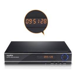 Wholesale Home Dvr Ch - SANNCE Video Recorder CCTV DVR 8 CH 720P 1080N H.264 HDMI Network CCTV DVR 8CH for Home Security Camera Surveillance System Free Shipping