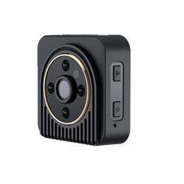 Wholesale Outdoor Wide Angle Camera - Mini IP Camera Wide Angle HD 720P Mini Wifi P2P DV Motion Detection Magnetic DVR Wireless Surveillance Wearable Body Camera
