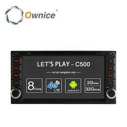 Wholesale Toyota Camry Dvd Player - Ownice C500 Android 6.0 Octa Core 2GB RAM 32GB ROM for Toyota Universal 2 Din Camry Corolla Viso Car DVD Radio Player with 4G SIM slot