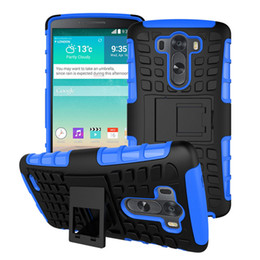 Wholesale Rugged Protection - For LG G3 Case Heavy Duty Rugged Shell Shockproof Protection Cover TPU PC Robot Hard Case For LG G3 D855 D852 Armor Case