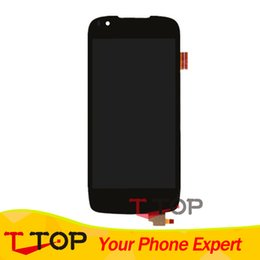 Wholesale fly display - Wholesale- For Fly IQ4405 Quad Evo Chic 1 LCD Display Touch Screen Digitizer Assembly 1PC Lot