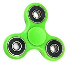 Wholesale Abs Vehicle - 2017 ABS Hand Spinner Fidget Metal Ball Bearings EDC Desk Toy Stress Reliever Fun Finger Toy For Decompression Anxiety 9 Colors DHL FREE