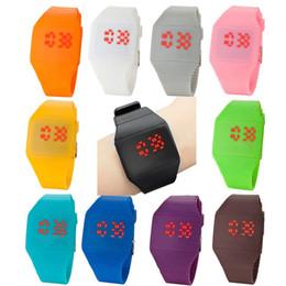 Wholesale Wrist Watch Jade - Unisex Ultra-Thin Boy Girl Touch Screen LED Digital Silicone Casual Wrist Watch