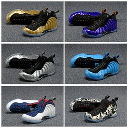 Wholesale Pearl Cream Day - Sale Air Basketball Shoes Sneakers Men's Women Blue Man One Pro Sports Shoes Pearl Penny Hardaway Shoes Size:5.5-13
