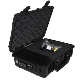 Wholesale Cheap Cigarette Boxes - Cheap E cigarette nail Pelican Electric dab nail Temperature controller wax PID box with 16 20 mm domeless titanium nails with carp cap