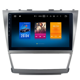 "Wholesale Toyota Car Stereo Gps - 10.2"" Octa Core Android 6.0 System Car DVD Radio For Toyota Camry 2007-2011 GPS Navi Stereo BT4.0 RDS WIFI 4G OBD DVR Wheel Control 2G RAM"