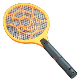 Wholesale Electric Netting - 3 Layers Net Dry Cell Hand Racket Electric Swatter Home Garden Pest Control Insect Bug Bat Wasp Zapper Fly Mosquito Killer