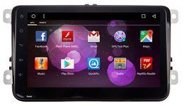 Wholesale Passat B5 Radio - Quad Core Android 6.0 New 2DIN 1024*600 Car DVD GPS VW Passat B6   B7   B5 Passat CC T5 T 5  sharan with WiFi Radio  free map