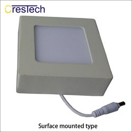 Wholesale Rooming House - 6W 12W 18W 23W surface mounted LED panel light suit for kitchen room bed room hall high brightness and super thin housing