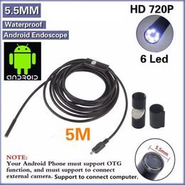 Gros- mini 7mm 1M Endoscope IP67 Caméra Serpent Serpent Tube Inspection Tube étanche pour Android / PC ? partir de fabricateur