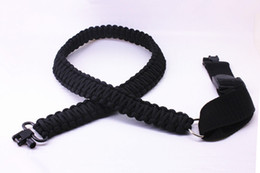 Wholesale Paracord Sling - Brand new Adjustable Paracord Tactical 550 Rifle Sling Strap with Swivels