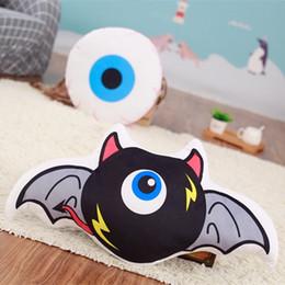 Wholesale Fun Stuff - Creative fun Duyan strange owl eye pillow stuffed sofa backrest spoof tricky gift,plush ,dolls ,toys