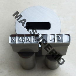 Wholesale Tablet Die Stamps - XANAX 2 Press Mold Punch Bar Die Stamp Mold Set for TDP-0 1.5 Pill Maker Tablet Press Machine