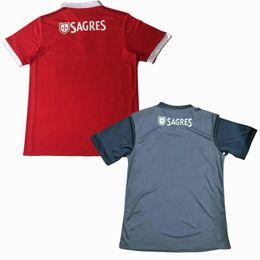 Wholesale Dry Wear - 17 18 Benfica home away red gray Jerseys 2017 2018 LOPEZ SALVIO RAUL JIMENEZ JONAS Sports Wear Shirts