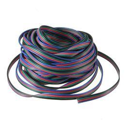 10M 4 broches RVB Extension Wir 5050/3528 RVB Led câble d'extension de câble de câble de câble Livraison gratuite ? partir de fabricateur