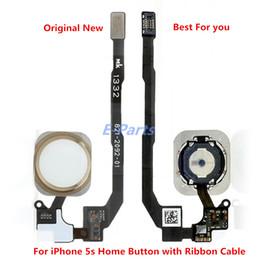 IPhone 5 S için Ev Düğme Ev Anahtar Flex Kablo Şerit Meclisi Orijinal Yeni iphone 5 s Siyah Beyaz Altın Ücretsiz Nakliye !!! nereden