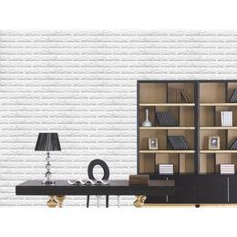 Wholesale Brick Wallpaper Sticker - Wholesale-New Fashion 3D Bricks Seft Adhesive Wall Sticker Soft Foam Panels Wallpaper Art Decor