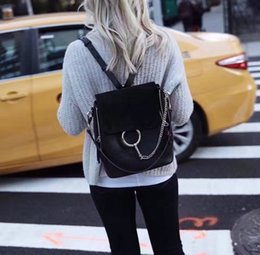 Wholesale Small Mail Packages - 2017 New Senior luxury leather women's bags,Paris fashion woman's backpack. Package mail