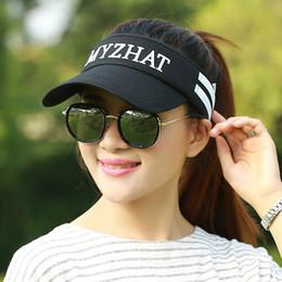 Wholesale Uv Sun Cream - Wholesale- BKONE Summer Hat Women UV Protection Baseball Cap Quick Dry Mesh Ladies Golf Hat Fishing Beach Sun Hats Sombrero